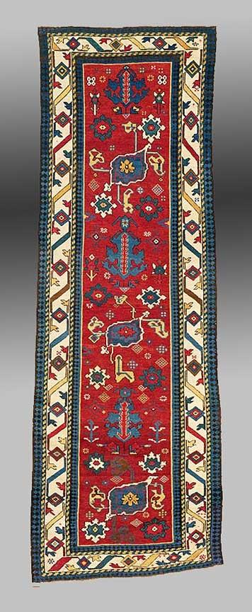 East Caucasian Long Rug