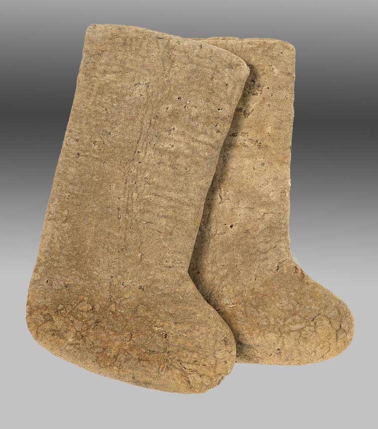 Pair of Felt Boots