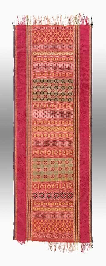 Tunisian or Moroccan Silk