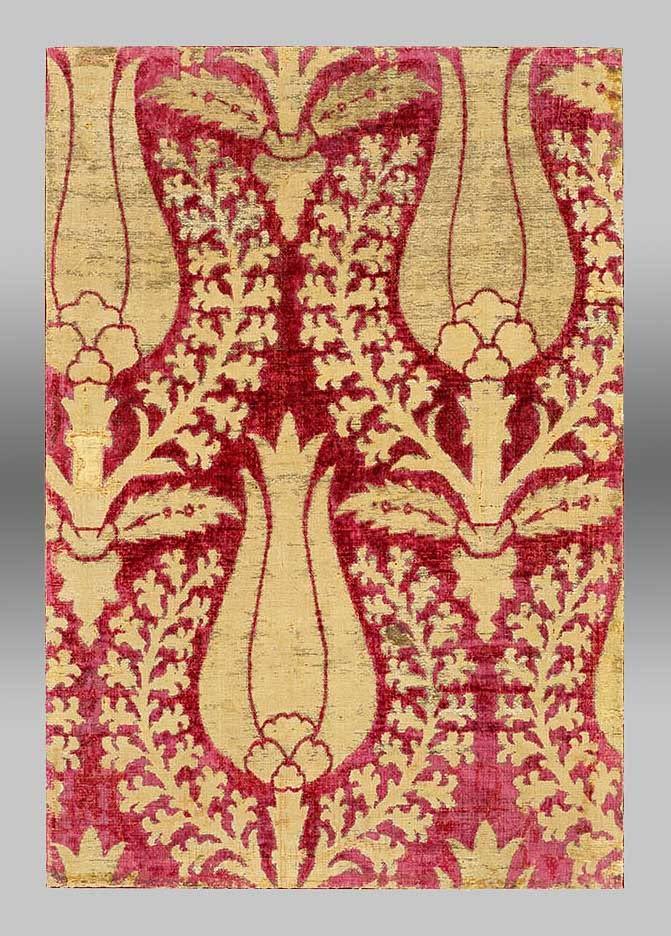 Ottoman Velvet fragment