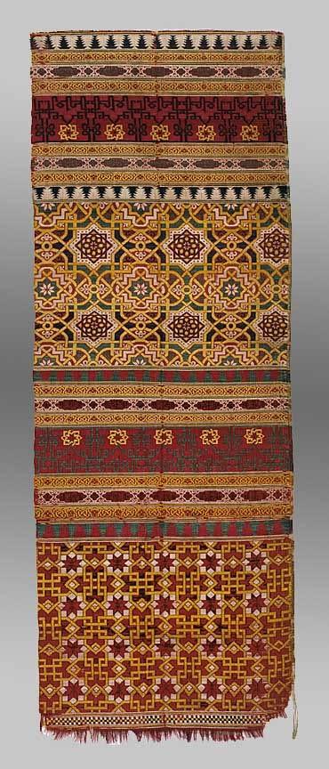 Silk Curtain Fragment