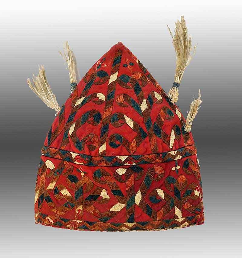 Turkmen Girl's Cap