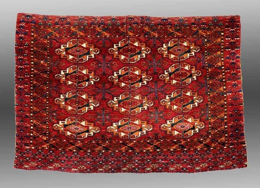 Bag Face (chuval), Saryk Tribe