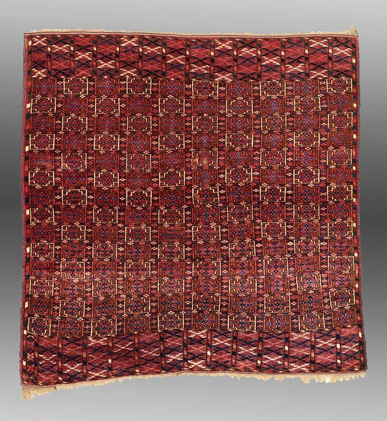Turkmen Bridal Rug (kedjebe rug)