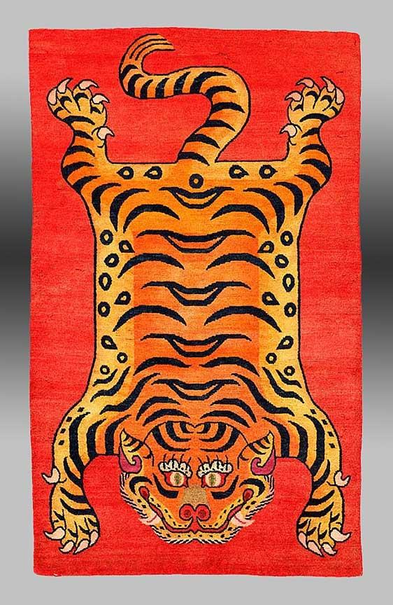 Tiger Pelt Rug